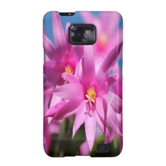 Flores rosadas galaxy s2 funda