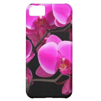 flores rosadas funda para iPhone 5C