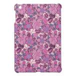 Flores rosadas iPad mini cobertura