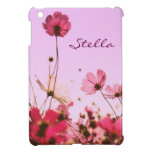Flores rosadas iPad mini protector