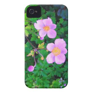 Flores rosadas iPhone 4 Case-Mate carcasas