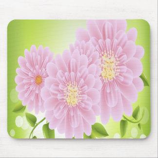 Flores rosadas alfombrillas de raton