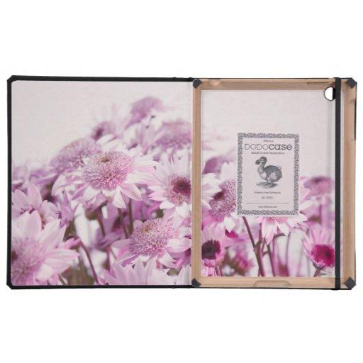Flores rosadas y púrpuras