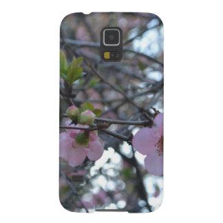 Flores rosados de Apple Carcasas Para Galaxy S5