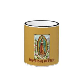 flores_s[1], EMPRESS OF AMERICA Ringer Coffee Mug