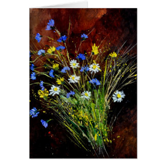 flores salvajes 1160 tarjetón
