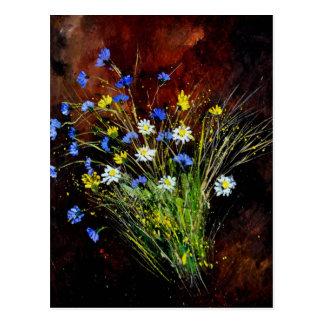 flores salvajes 1160 postal