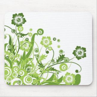 Flores salvajes alfombrillas de ratones