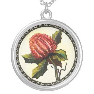 Flores salvajes australianas colgante redondo