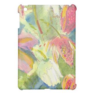 Flores salvajes británicas que pintan diseño flora