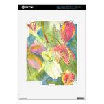 Flores salvajes británicas que pintan diseño flora pegatina skin para iPad 3