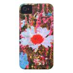 Flores salvajes Case-Mate iPhone 4 funda