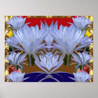 """ flores salvajes de LILLY 16x12: Energía positiva Poster"