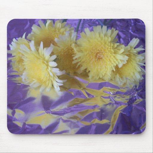Flores salvajes del desierto amarillo alfombrilla de raton