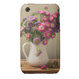 Flores salvajes en un caso de la célula del Case-Mate iPhone 3 fundas