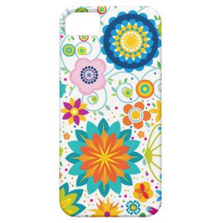 Flores salvajes iPhone 5 carcasas