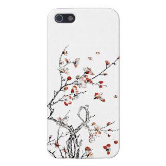 Flores salvajes japoneses 03 iPhone 5 carcasa