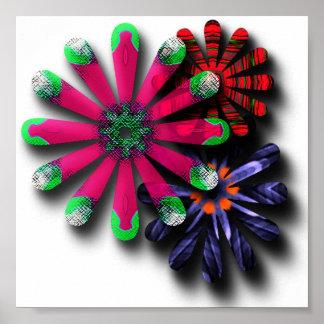 flores salvajes póster