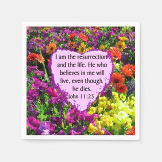 FLORES SALVAJES PÚRPURAS DEL 11:25 DE JUAN SERVILLETA DE PAPEL
