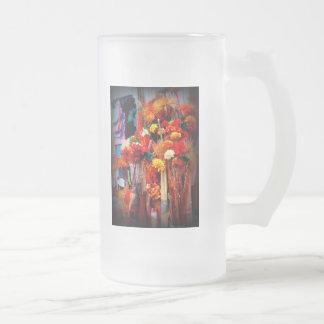 Flores secadas - fotos vivas del mercado tazas