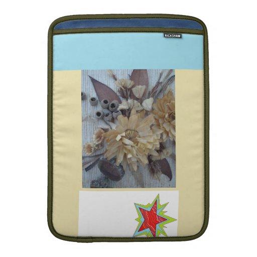 flores secadas fundas macbook air
