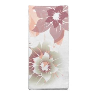 Flores suaves de la caída - servilleta - 1