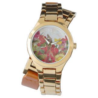 Flores subiós bailarín español relojes de pulsera