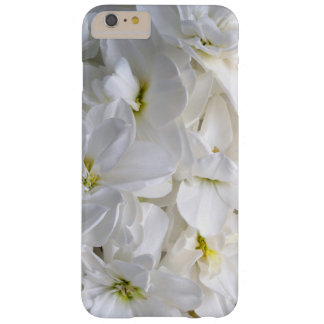 Flores Sunlit blancas Funda Para iPhone 6 Plus Barely There