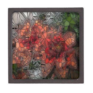flores tales como vitral cajas de recuerdo de calidad