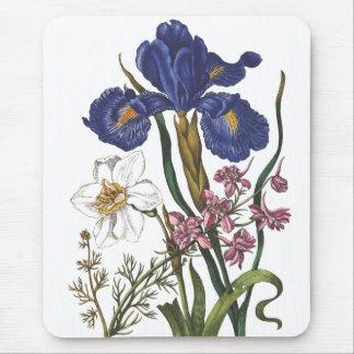Flores Tapete De Ratones