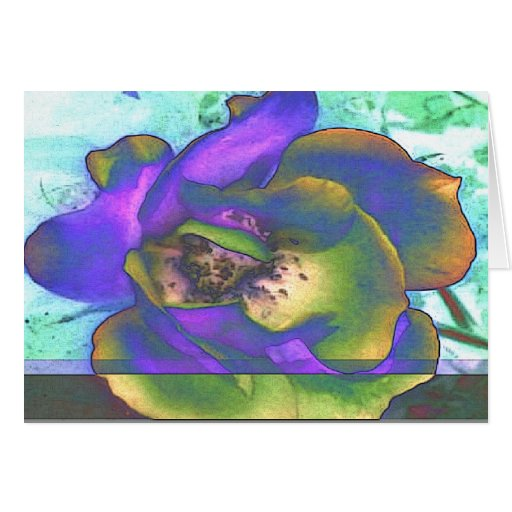 Flores Tarjeta De Felicitación