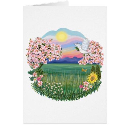 Flores - tarjeta de felicitación