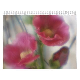 Flores tomadas con el calendario suave de la lente