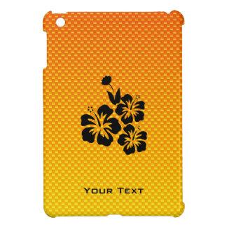 Flores tropicales amarillo-naranja iPad mini coberturas