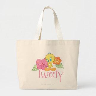 Flores tropicales de Tweety Bolsa