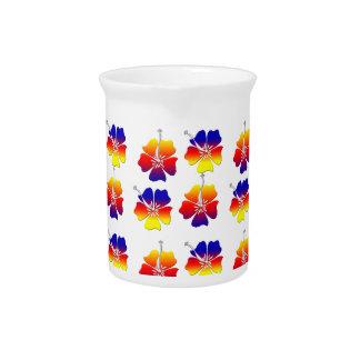 Flores tropicales jarras