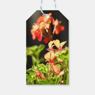 Flores ucranianas etiquetas para regalos