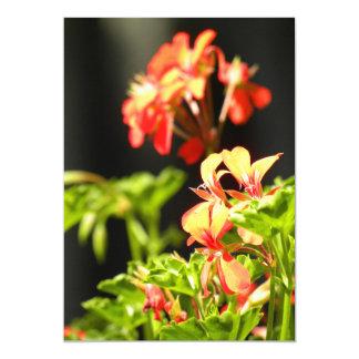 """Flores ucranianas invitación 5"""" x 7"""""""