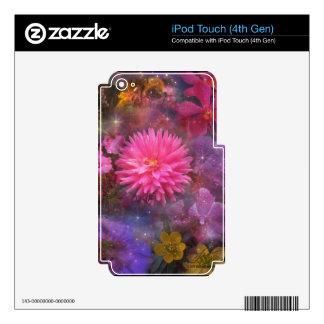 Flores - un ramo visual para la mamá iPod touch 4G skin