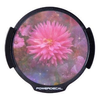 Flores - un ramo visual para la mamá pegatina LED para ventana