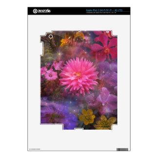 Flores - un ramo visual para la mamá pegatina skin para iPad 3