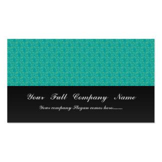 Flores verdes claras atractivas con los pétalos fr tarjetas de negocios