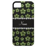 Flores verdes claras conocidas personalizadas del  iPhone 5 Case-Mate protectores