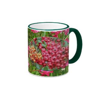 Flores y bayas del Oleander que coordinan artículo Tazas De Café
