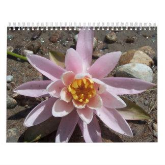 Flores y calendario de la escritura