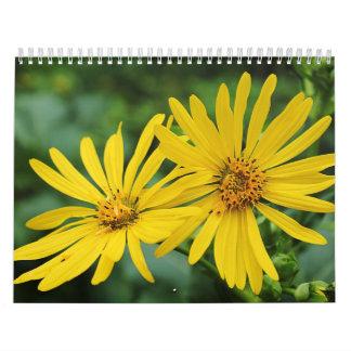 Flores y calendario de la naturaleza