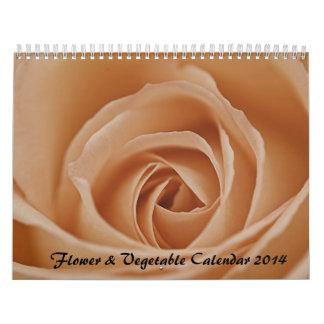 Flores y calendario macro vegetal 2014