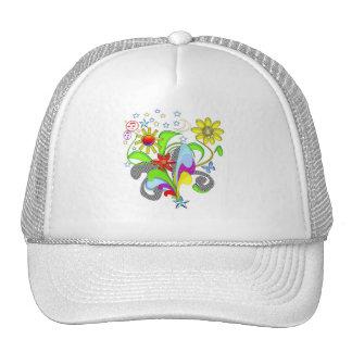 Flores y camisetas y regalos de los remolinos gorras