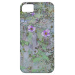 Flores y cerca vieja iPhone 5 Case-Mate protector