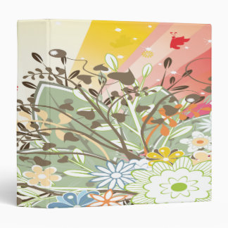 flores y chispa rays-01-01 de la primavera